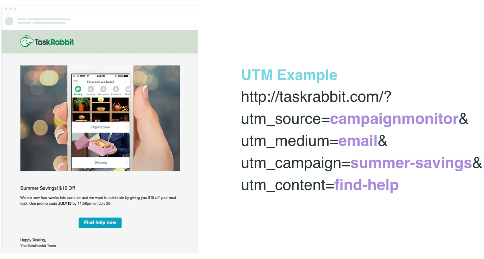 using UTMs for email marketing