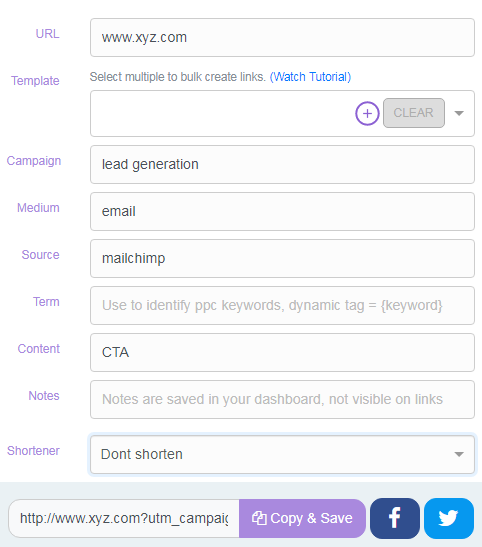 UTM links for your email campaigns